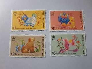 1994年狗年紀念郵票