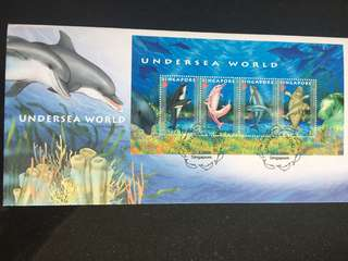 Undersea World First Day Cover