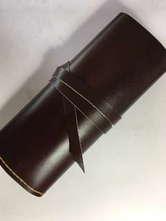 Leather pens wallet