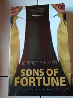 Buku/novel Sons of Fortune by Jeffrey Archer