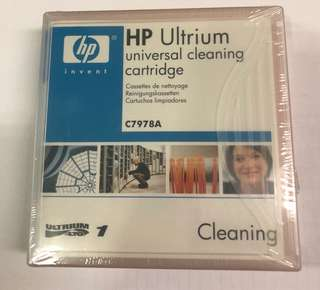HP LTO ULTRIUM CLEANING CARTRIDGE C7978A