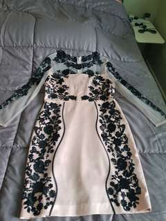 Beaded dress ( Suitable for Diner and Hari Raya)