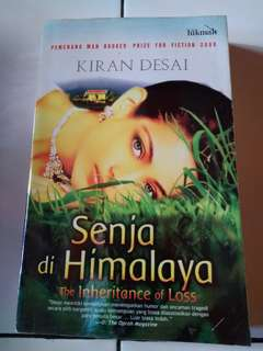 Buku/novel Senja di Himalaya by Kiran Desai
