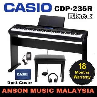 Casio CDP-235R Digital Piano, Black