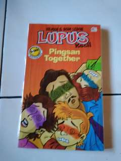 Novel Lupus: Pingsan Together by Hilman
