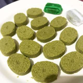 Matcha Spread and Matcha Polvoron