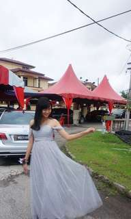 Evening gown ( grey)