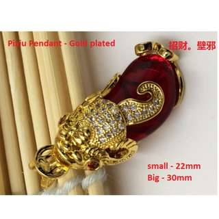 Elegant Pixiu Pendant only- Ideal Mother day gifts