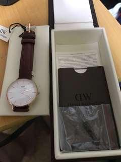 男裝DW Watch (Classic St Mawes) 90%new