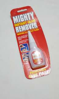 Mighty instant glue remover
