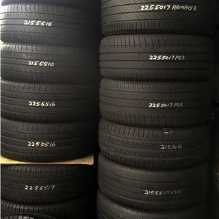 Used Pre-Owned Tyres