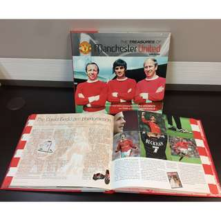 The Treasures of Manchester United, Hardcover, 2003  ( Out Of Print )