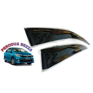 PERODUA BEZZA 3INCH ORIGINAL DOOR VISOR