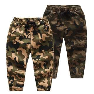 Ready Stock New Fashion Camouflage pants