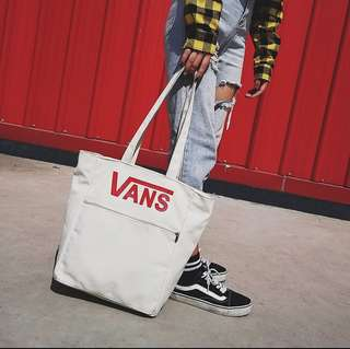 VANS Canvas Tote Bag