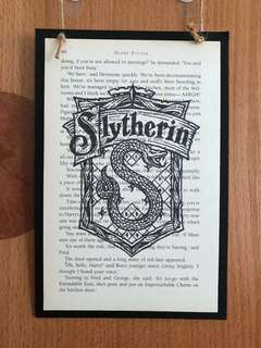 HARRY POTTER SYLTHERIN POSTER