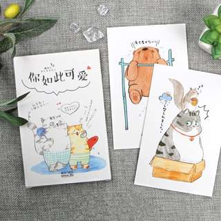 (Instock) My Animal Pals Postcards/ Post Cards