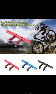 Bicycle/motorcycle handlebar extension(single/double)