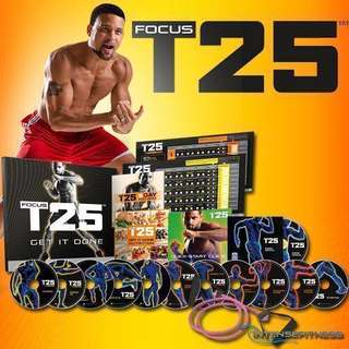 🔥Alpha Cycle:The Foundation, Focus T25 by Shaun T Beachbody Digital DVD