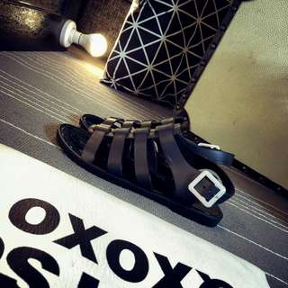 Ready Stock New Fashion Female jelly casual shoes