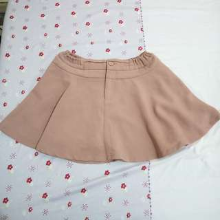 Old Rose Garterized Skirt