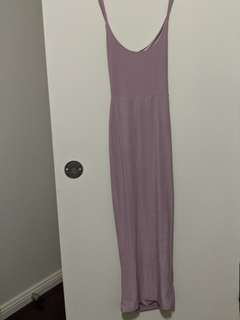 Boohoo Petite Bodycon Blush Pink Dress