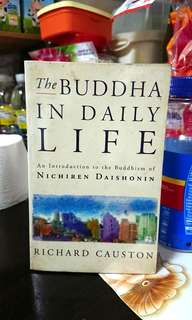 *Free Postage*The Buddha In Daily Life By Richard Causton