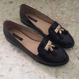 Zalora Black Loafer