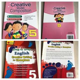 P5 composition writing books English