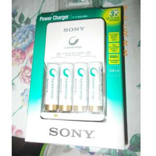 Sony Power Charger for AA and AAA Batteries