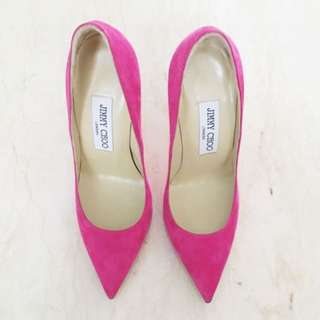 JIMMY CHOO (Authentic) Anouk Magenta Pumps