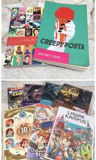 Creepy Posta/Lawak Kampus/Horror Comic/Catatan Matluthfi