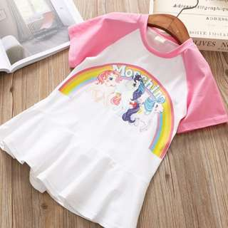 #weloveall Rainbow Toddler Dress