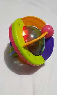 Baby toy with lights and sound