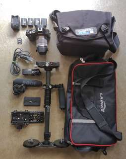 Sony A7 for Rent Comple Gear