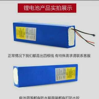 Lithium battery repacking