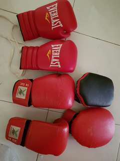 Boxing gloves focus mitts