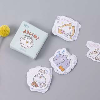 (PO) Chubby Cat Stickers