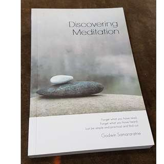C93 BOOK - DISCOVERING MEDITATION BY  GODWIN SAMARARATNE