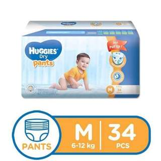Huggies Pull Up Medium