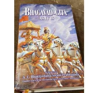 C97 BOOK - BHAGAVAD-GITA, AS IT IS BY  A.C BHAKTIVEDANTA SWAMI PRABHUPADA