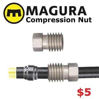 Magura Compression Nut for Disc Brake Hose, Lever Side