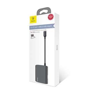 Baseus Enjoyment Series Micro Type-C USB Card Reader + Hub