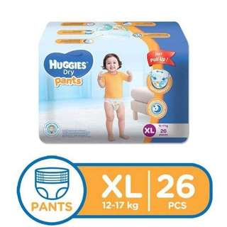 Huggies Pull Up XL Diapers