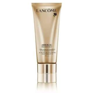 Lancome Absolute Precious Cells Nourishing and Replemishing Hand Cream SPF 15 PA+++ 100ml