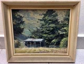 (UBT) ALAN D.Cooke Painting (NZ)