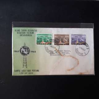 Malaysia  1965 First Day Cover
