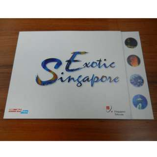 NTUC Fairprice and Singapore Telecom Exotic Singapore Phone Home Cards