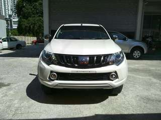 Mitsubishi Triton 2.4 VGT Auto premium New, unregistered