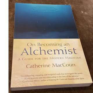 C106 BOOK - ON BECOMING AN ALCHEMIST